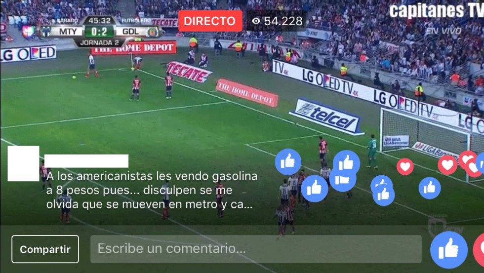 Un entramado de perfiles de Facebook emite fútbol pirata en directo ... 9c31d8a9039e5