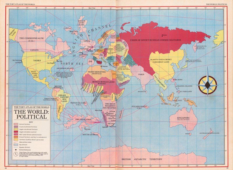 ddebd9e0c8 11 mapas que han querido cambiar nuestra forma de ver el mundo ...